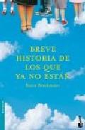 Portada de BREVE HISTORIA DE LOS QUE YA NO ESTAN