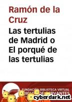 Portada de LAS TERTULIAS DE MADRID O EL PORQUÉ DE LAS TERTULIAS - EBOOK