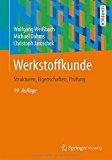 Portada de WERKSTOFFKUNDE: STRUKTUREN, EIGENSCHAFTEN, PRÜFUNG