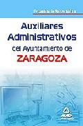 Portada de AUXILIARES ADMINISTRATIVOS DEL AYUNTAMIENTO DE ZARAGOZA. PRUEBA INFORMATICA