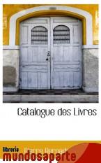 Portada de CATALOGUE DES LIVRES