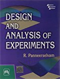 Portada de DESIGN AND ANALYSIS OF EXPERIMENTS BY R. PANNEERSELVAM (2012-02-29)