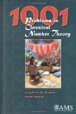 Portada de 1001 PROBLEMS IN CLASSICAL NUMBER THEORY BY JEAN-MARIE DE KONINCK AND ARMEL MERCIER (2007) HARDCOVER