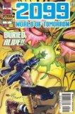 Portada de 2099 WORLD OF TOMORROW ISSUE NO. 2 OCTOBER 1996 BURIED ALIVE