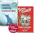 Portada de PACK LA SOMBRA DE LA SIRENA + SUPER CHARLIE