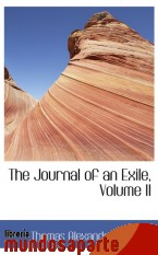 Portada de THE JOURNAL OF AN EXILE, VOLUME II