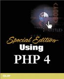 Portada de USING PHP 4 SPECIAL EDITION (SPECIAL EDITION USING)