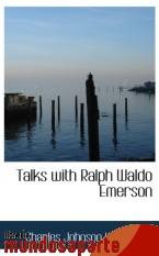 Portada de TALKS WITH RALPH WALDO EMERSON