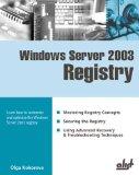 Portada de WINDOWS SERVER 2003 REGISTRY