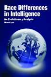 Portada de RACE DIFFERENCES IN INTELLIGENCE: AN EVOLUTIONARY ANALYSIS