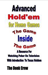 Portada de ADVANCED HOLDEM FOR HOME GAMES