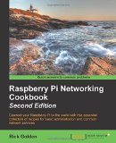 Portada de RASPBERRY PI NETWORKING COOKBOOK - SECOND EDITION