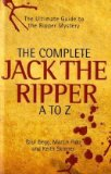 Portada de THE COMPLETE JACK THE RIPPER A-Z BY PAUL BEGG ( 2010 ) HARDCOVER