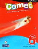 Portada de COMET. 6 PRIMARY. PUPIL'S BOOK