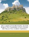 Portada de DIE LANDGTERORDNUNG KAISER KARLS DES GR