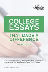Portada de COLLEGE ESSAYS THAT MADE A DIFFERENCE, 5TH EDITION