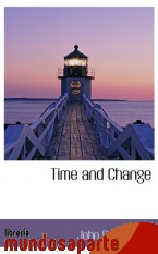 Portada de TIME AND CHANGE