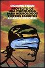 Portada de PROYECTO DE UNA PSICOLOGIA PARA NEUROLOGOS Y OTROS ESCRITOS
