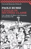 Portada de L'ITALIA IN SECONDA CLASSE (UNIVERSALE ECONOMICA)