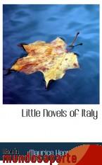 Portada de LITTLE NOVELS OF ITALY