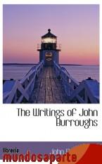 Portada de THE WRITINGS OF JOHN BURROUGHS