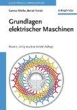 Portada de GRUNDLAGEN ELEKTRISCHER MASCHINEN: NEUNTE, VOLLIG NEU BEARBEITETE AUFLAGE: ELEKTRISCHE MASCHINEN 1