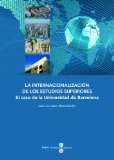 Portada de INTERNACIONALIZACIÓN DE LOS ESTUDIOS SUPERIORES, LA: EL CASO DE LA UNIVERSIDAD DE BARCELONA