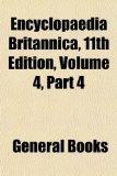 Portada de ENCYCLOPAEDIA BRITANNICA, 11TH EDITION,: 4