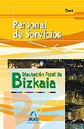 Portada de PERSONAL DE SERVICIOS DE LA DIPUTACION FORAL DE BIZKAIA: TEST