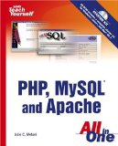 "Portada de ""SAMS"" TEACH YOURSELF PHP, MY SQL AND APACHE ALL IN ONE"