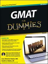 Portada de GMAT FOR DUMMIES