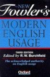 Portada de THE NEW FOWLER'S MODERN ENGLISH USAGE (3RD ED)