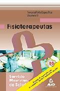 Portada de FISIOTERAPEUTAS DEL SERVICIO MURCIANO DE SALUD. TEMARIO PARTE ESPECIFICA VOL. III