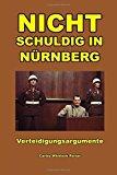 Portada de NICHT SCHULDIG IN N??RNBERG BY CARLOS PORTER (2012-10-27)