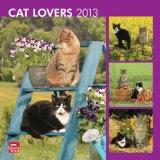 Portada de CAT LOVERS WALL CALENDAR 2013