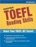 Portada de MASTER THE TOEFL READING SKILLS, 1ST ED (PETERSON'S MASTER THE TOEFL READING SKILLS)