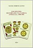 Portada de LOS SOLESIO. HISTORIA DE UNA FAMILIA ANDALUZA, 1780-1901