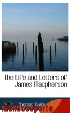 Portada de THE LIFE AND LETTERS OF JAMES MACPHERSON