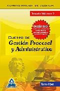 Portada de CUERPO DE GESTION PROCESAL Y ADMINISTRATIVA DE LA ADMINISTRACION DE JUSTICIA. TURNO LIBRE. TEMARIO. VOLUMEN II