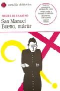 Portada de SAN MANUEL BUENO, MÁRTIR