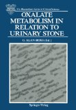 Portada de OXALATE METABOLISM IN RELATION TO URINARY STONE (THE BLOOMSBURY SERIES IN CLINICAL SCIENCE)