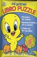 Portada de MI PRIMER LIBRO PUZZLE: LOS COLORES
