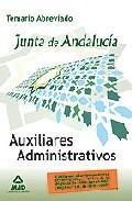 Portada de AUXILIARES ADMINISTRATIVOS DE LA JUNTA DE ANDALUCIA: TEMARIO ABREVIADO