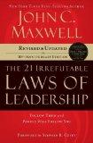 Portada de 21 IRREFUTABLE LAWS OF LEADERSHIP BY MAXWELL. JOHN C. ( 2007 ) PAPERBACK