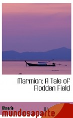 Portada de MARMION: A TALE OF FLODDEN FIELD