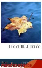 Portada de LIFE OF W. J. MCGEE