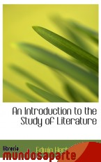 Portada de AN INTRODUCTION TO THE STUDY OF LITERATURE