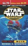 Portada de STAR WARS THE NEW JEDI ORDER DARK TIDE II: RUIN
