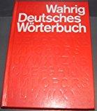 Portada de DEUTSCHES WORTERBUCH DICTIONARY (GERMAN EDITION) BY GERHARD WAHRIG (1990-01-01)
