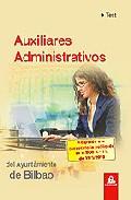 Portada de TEST AUXILIARES ADMINISTRATIVOS DEL AYUNTAMIENTO DE BILBAO
